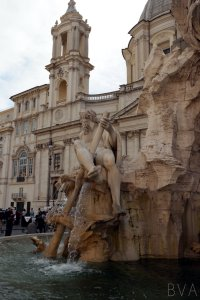 Fountain in the Piazza Navona