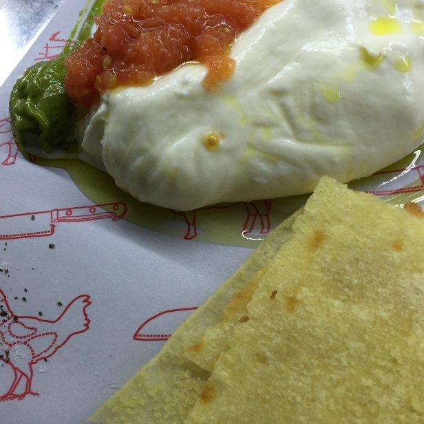 The most delicious burrata in the world